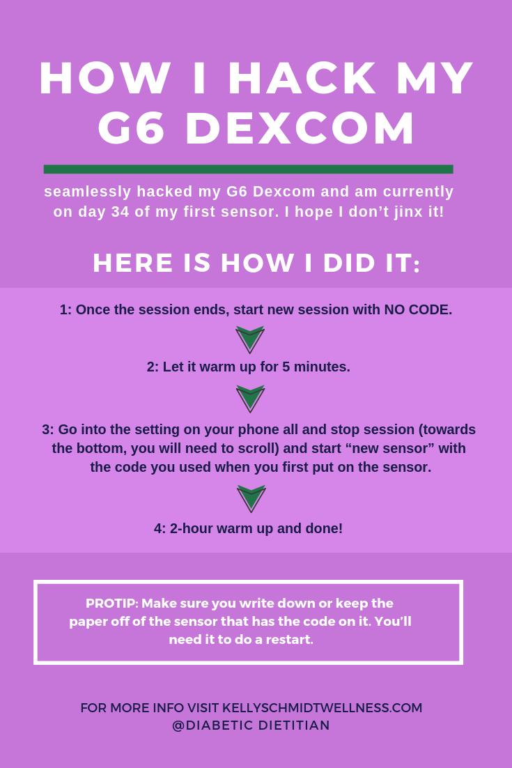 Hack Your 6 Dexcom Sensor - KSW - #insulinpump #diabetic #type1diabetes #diabetes #diabeticnutrition #diabetichacks #diabeteshacks #diabetictips #diabeticinfo #dexcom #g6dexcom